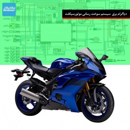 نقشه برقی موتور سیکلت با ایسیو لیفان
